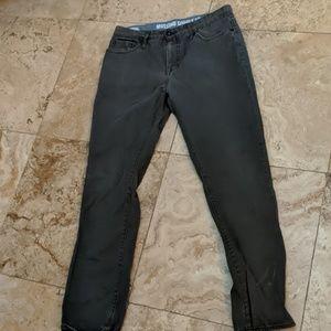 Mossimo men's slim straight grey pants 32 32